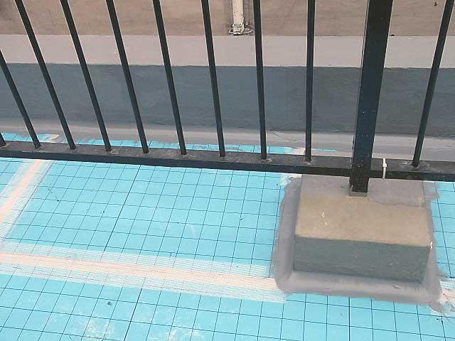 ウレタン防水通気緩衝シート