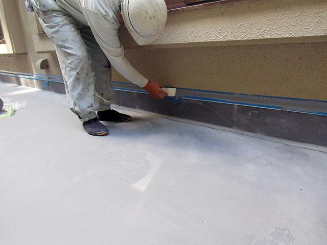 塩ビシート防水付帯工事